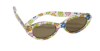 Kolli: 2 Sun glasses, flower design, 2-pcs.