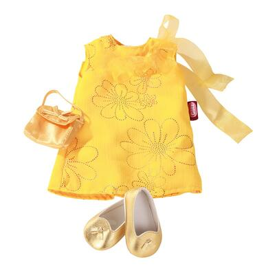 Kolli: 2 Dress, golden girl, 3-pcs.