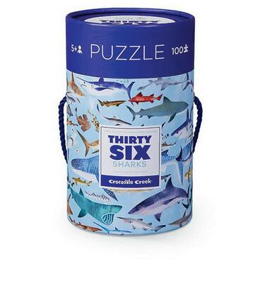 Kolli: 2 100 pc Puzzle/Sharks (New)