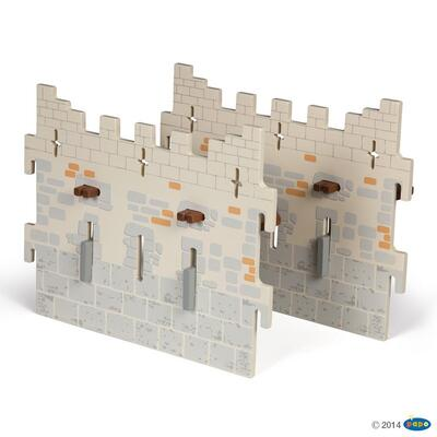 Kolli: 1 Set 4 Weapon master castle (2 large walls)